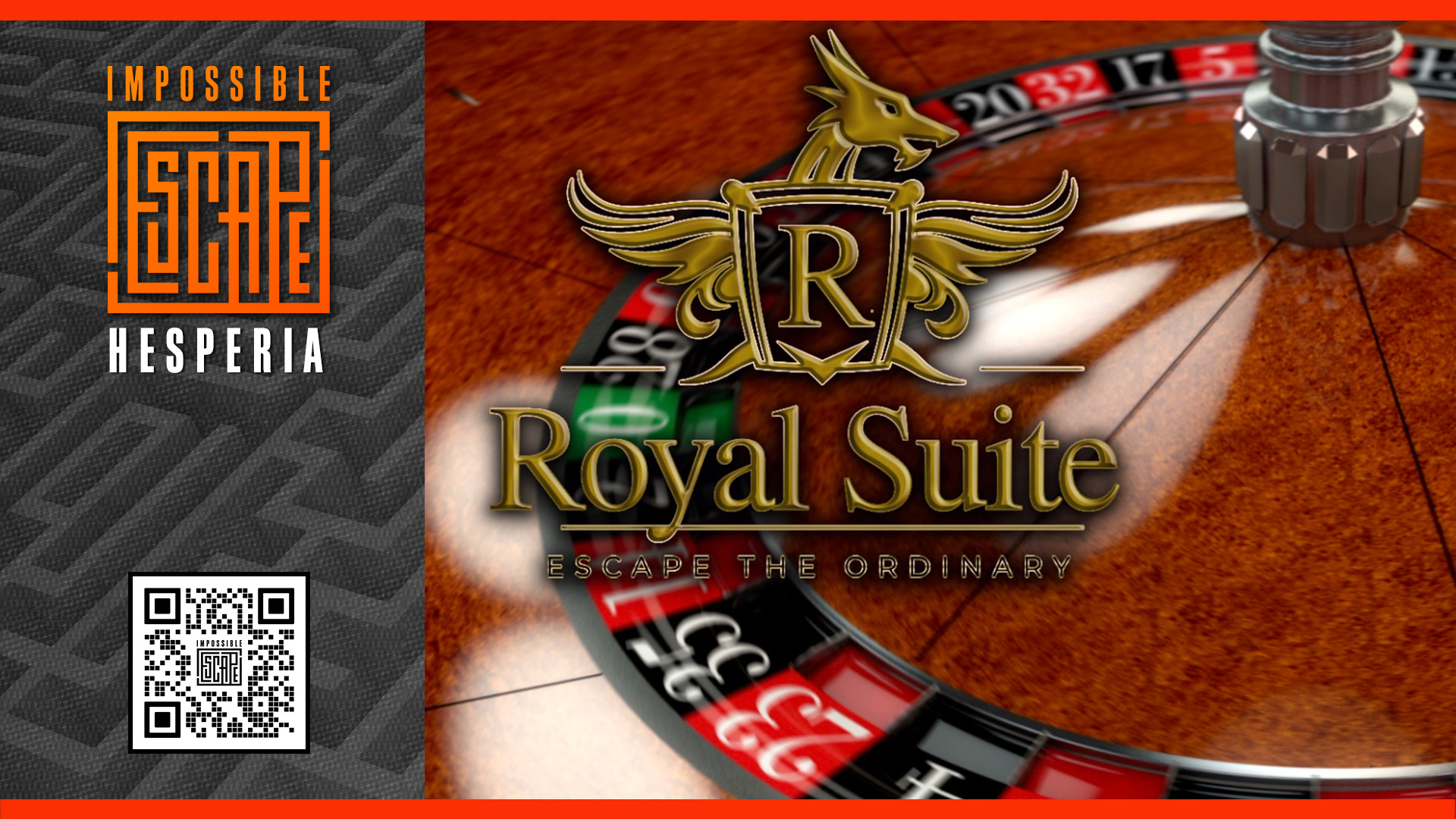 The Royal Suite at Impossible Escape Hesperia